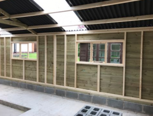 Heavy Duty Timber Garage/Workshop- 12ft x 18ft