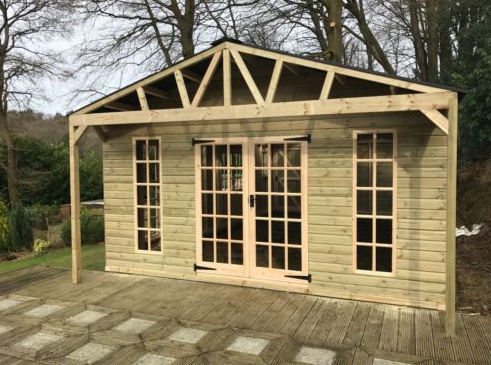 Heavy Duty Timber Garage/Workshop – 16 7ft x 30ft – The Shed Box