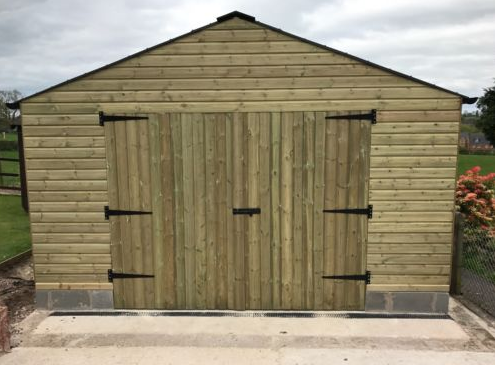 Heavy Duty Timber Garageworkshop 12ft X 18ft The Shed Box